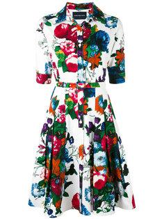 floral print shirt dress Samantha Sung