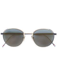 солнцезащитные очки в круглой оправе Thom Browne