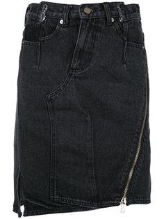 джинсовая юбка неровного кроя 3.1 Phillip Lim