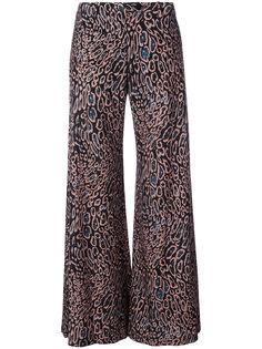 широкие расклешенные брюки Raquel Allegra