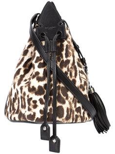 маленькая сумка Anja с кисточкой  Saint Laurent