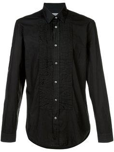 рубашка с плиссированной деталью Maison Margiela
