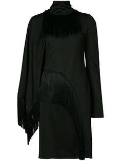 приталенное платье с бахромой Givenchy