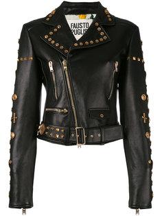 декорированная куртка Perfecto  Fausto Puglisi