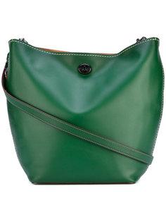 сумка через плечо с биркой с логотипом Coach