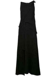 длинно платье с поясом Proenza Schouler