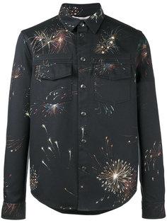 куртка с принтом фейерверков  Valentino