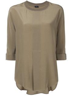 блузка с ребристой отделкой Joseph