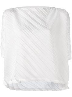 pleated blouse  Issey Miyake Cauliflower