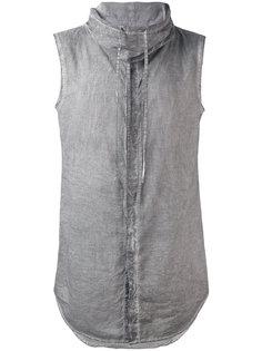 рубашка с воротником-воронкой без рукавов  Unconditional