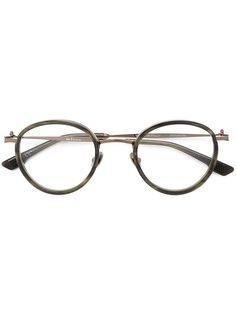 солнцезащитные очки в круглой оправе Kiton