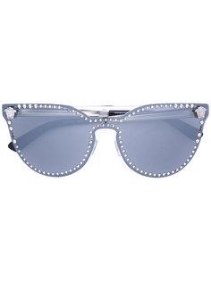 солнцезащитные очки с заклепками Versace