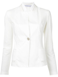 приталенная куртка с высокой горловиной  Fabiana Filippi