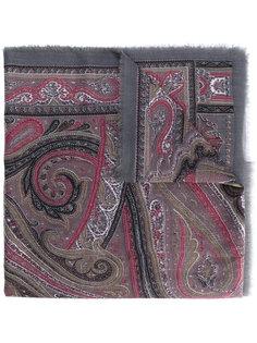 шарф с принтом пейсли Brioni