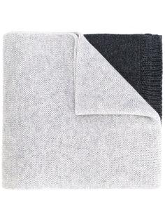 трехцветный шарф Brioni