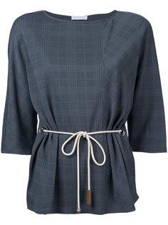 блузка с завязками на поясе Fabiana Filippi