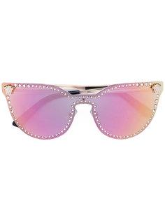 солнцезащитные очки с зеркальными линзами Versace