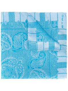 """платок с принтом """"пейсли"""" Etro"""