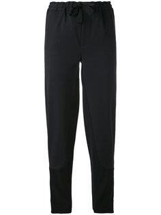 зауженные брюки с поясом на завязках Marni