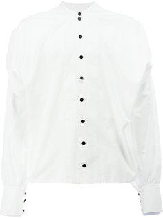 рубашка с воротником-стойкой Christopher Nemeth