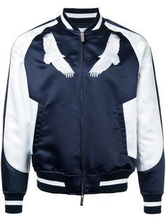 бейсбольная куртка с вышивкой орла Yoshio Kubo