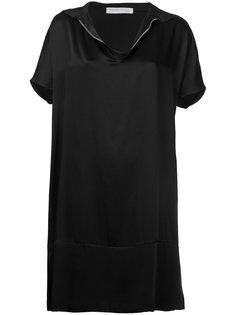 платье-футболка с отделкой молнией Fabiana Filippi