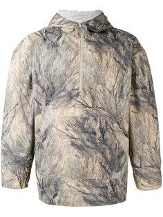 куртка на молнии с абстрактным принтом Yeezy