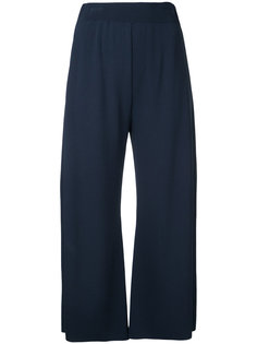 укороченные расклешенные брюки Fabiana Filippi