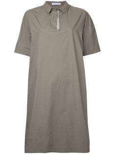 платье-рубашка с короткими рукавами Fabiana Filippi