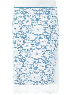 кружевная юбка-карандаш Paco Rabanne