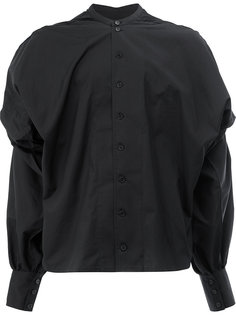 band collar shirt  Christopher Nemeth