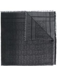 шарф с монограммным принтом  Philipp Plein