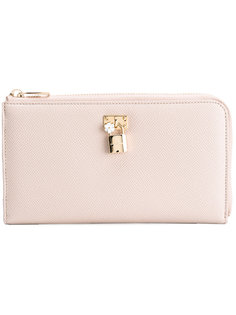 кошелек с замочком спереди Dolce & Gabbana