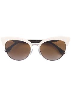 солнцезащитные очки в оправе кошачий глаз Fendi