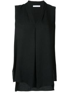 блузка без рукавов с плиссировкой Fabiana Filippi