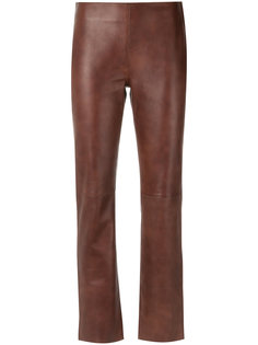 leather trousers Egrey
