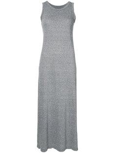 длинное платье-майка Current/Elliott