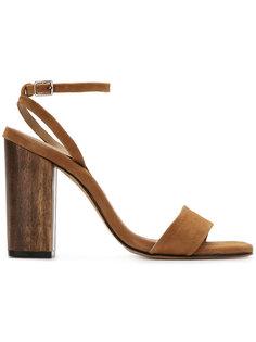 leather sandals Egrey