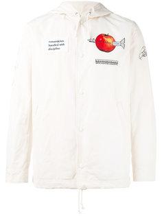 куртка-бомбер  с заплатками Undercover
