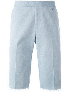 шорты с бахромой Yang Li