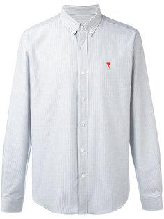 рубашка с логотипом на пуговицах Ami Alexandre Mattiussi