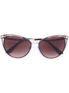 cat eye sunglasses Bulgari