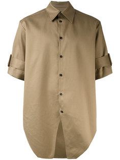 рубашка с короткими рукавами и поясом Yang Li