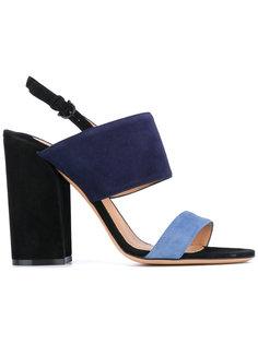 босоножки на массивном каблуке Salvatore Ferragamo