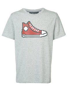 Red Chucks T-shirt Mostly Heard Rarely Seen