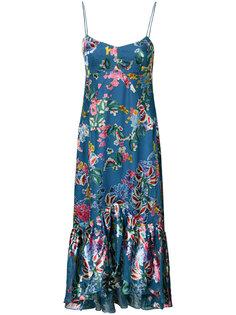 floral midi dress Saloni