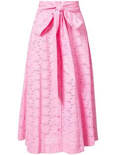 расклешенная юбка-миди Lisa Marie Fernandez