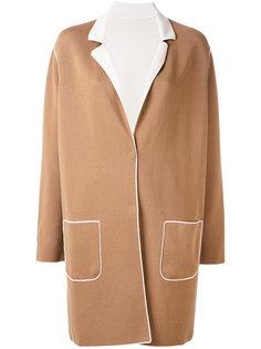 contrast coat Le Tricot Perugia