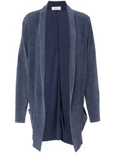 long shawl-collar cardigan Osklen