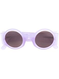 солнцезащитные очки в круглой оправе Linda Farrow
